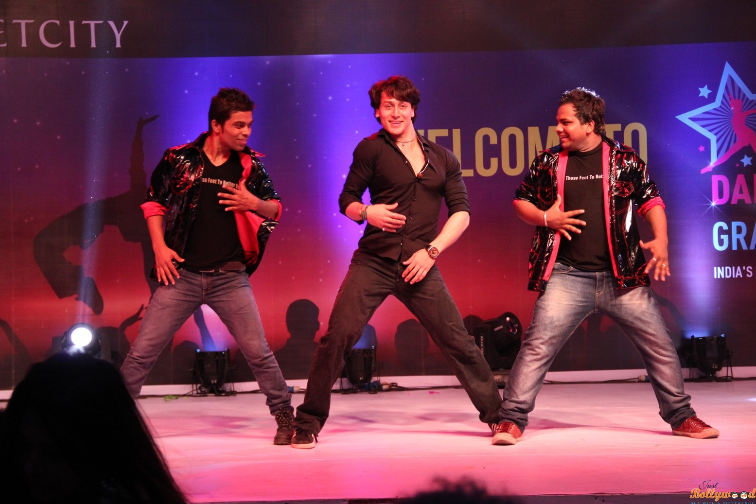 Tiger Shroff at the 2nd edition of India Dance Week