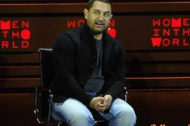 Aamir Khan talks on gender inequality & social evils in Indian society at NY summit