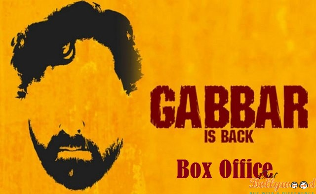 Gabbar-Is-Back 1st weekend box office collection