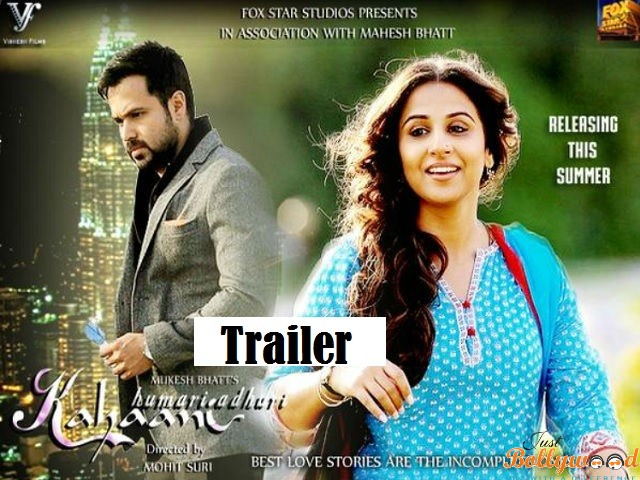 Photo of Catch Emraan Hashmi-VIdya Balan Starrer Hamari Adhuri Kahani Trailer