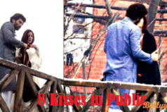Aditya Roy Kapoor Kisses Katrina 8 times in public during the movie Fitoor shooting