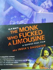 monk who fucked limo poster