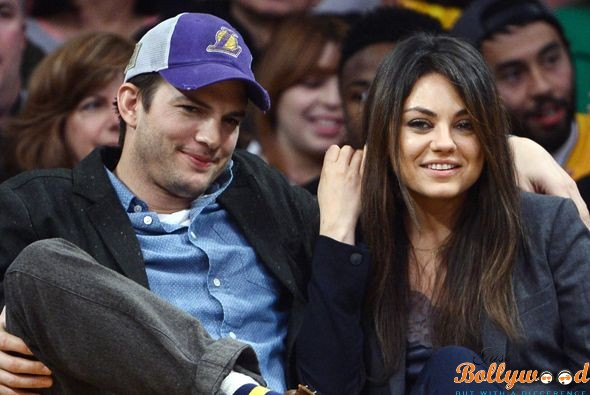 Ashton Kutcher and Mila Kunis