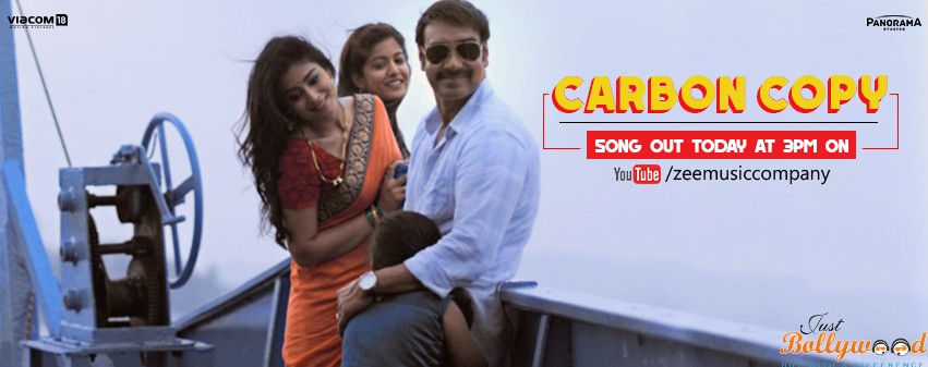 Photo of Catch Drishyam's 1st Song Carbon Copy Featuring Ajay & Shriya