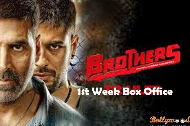 Brothers –1st Week Box Office Report