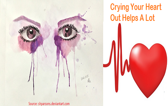 Photo of Crying Your Heart Out Helps A Lot