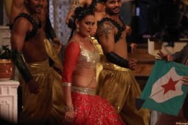 "Jasveer Kaur shoots item song for bollywood upcoming movie ""JD"" With Govind Namdeov and Vedita Pratap Singh"