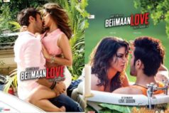 Catch Sizzling Beimaan Love poster featuring Sunny Leone and Rajniesh Duggal