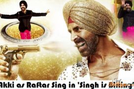 Catch Akshay Kumar as Raftar Singh in 'Singh Is Bliing'