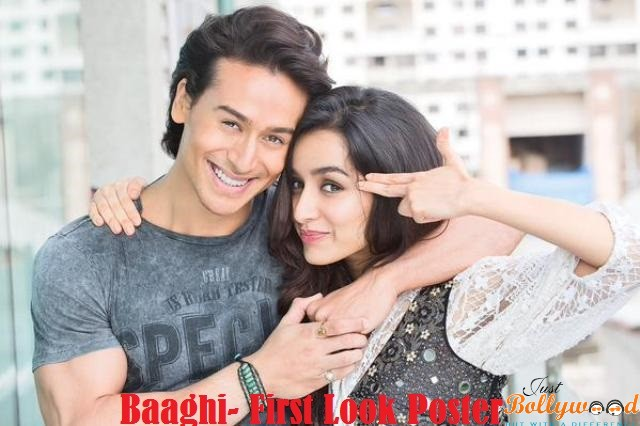 Baaghi first look poster