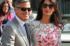 "George Clooney feels like an ""idiot"" when he talks to his wife Amal."