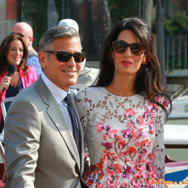 "Photo of George Clooney feels like an ""idiot"" when he talks to his wife Amal."