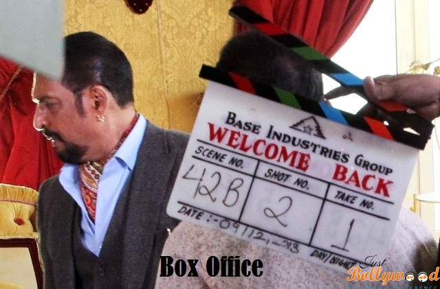 Welcome Back -Box Office Prediction
