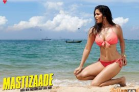 Sunny Leone Bang with her sexcy look in Mastizaade posters
