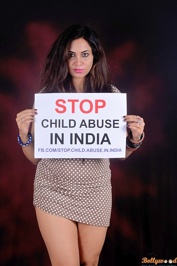 arshi khan stop child abuse in india