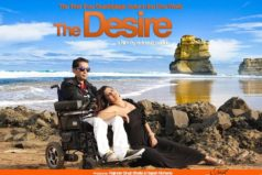 "Actress Swapna Pati in the Movie Based on a Quadriplegic ""The Desire"" Directed by AD Director Avinash Nanda"