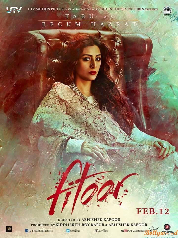 Fitoor Tabu poster