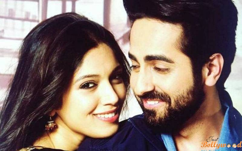 Manmarziyaan first look of Ayushmann and Bhumi