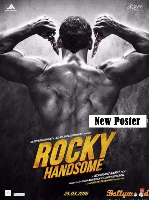 Photo of Catch the new poster of John Abraham starring Rocky Handsome