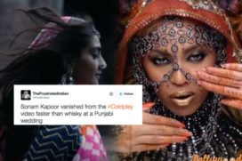 Soonam Kapoor Stunning Cameo in Coldplay Turns Out Controversial in Social Media