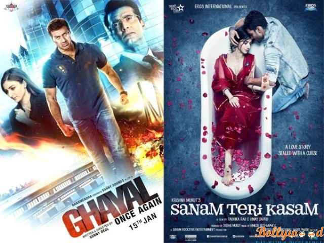 1st week box_office_report_Ghayal Once Again and Sanam Teri Kasam