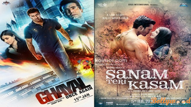 Photo of Ghayal Once Again and Sanam Teri Kasam – 1st Weekend Box Office Report