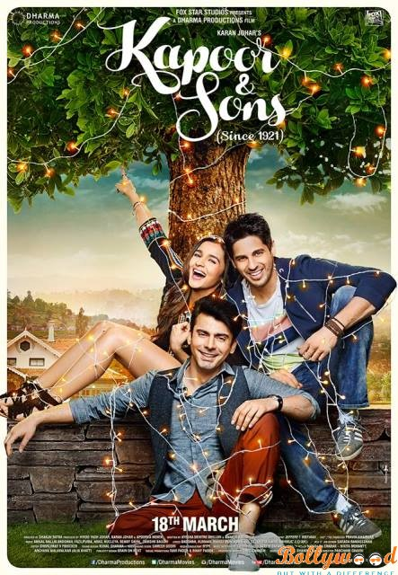 Kapoor & Sons (Since 1921) 2nd poster