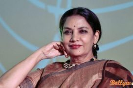 Ten hour continuous shoot for Shabana Azmi
