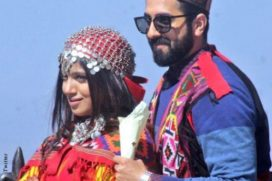 Catch the first looks of Ayushmann & Bhumi On The Sets Of Manmarziyan
