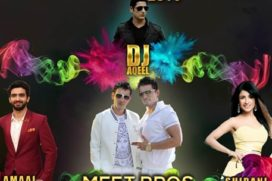 Colour Blast 2016 Holi Celebration by Meet Bros, Amaal Malik, Rahul Raj Singh, Shibani Kashyap and DJ Aqeel