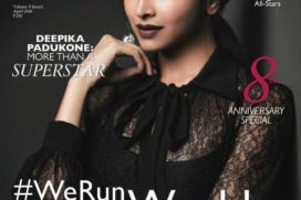 Deepika Padukone Sizzling over Cover page of Grazia April Issue