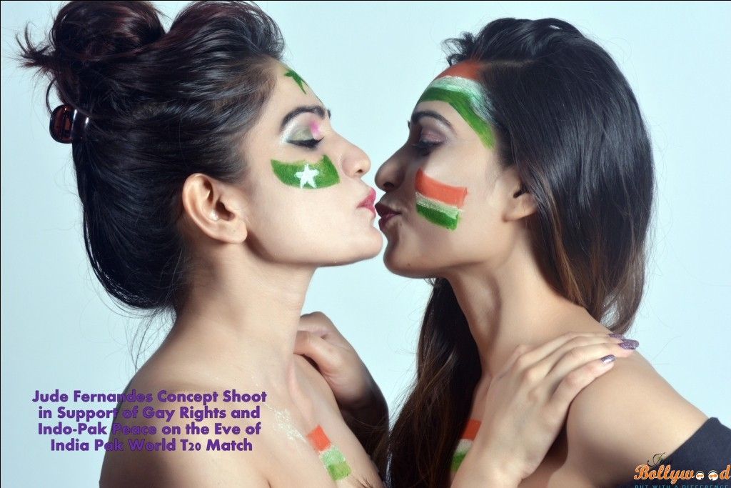 Jude Fernandes Concept Shoot In Support Of Gay Lesbian Rights And Indo Pak Peace On The Eve Of India Pak World T20 Match