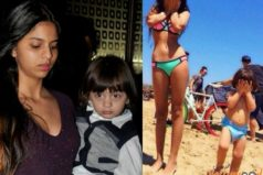 Is Suhana Khan (daughter of SRK) Sporting Bikini Along With Lil AbRam