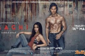 Catch the Baaghi poster starring Tiger Shroff and Shraddha Kapoor