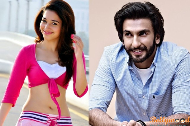 Photo of Ranveer Singh & Tamannaah Unite in Rohit Shetty's next film