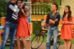 Tiger & Shraddha reaches out to The Kapil Sharma Show in Cycle