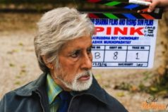 Catch the First Look of Amitabh Bachchan from Pink