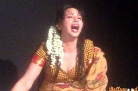 Rozlyn Khan 's Intense Performance as Sugandhi in the Manto Play !