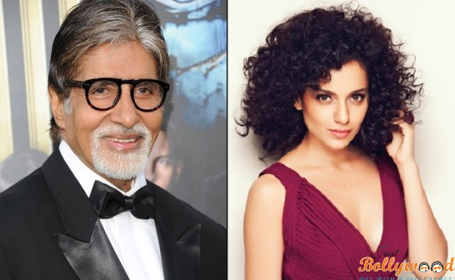 Big B and Kangana bags award National awards