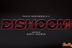 Catch the Official Logo of Dishoom starring John Abraham & Varun Dhawan