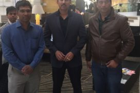 Minister of State for I&B Col. Rajyavardhan Singh Rathore promotes Film Industry at Cannes