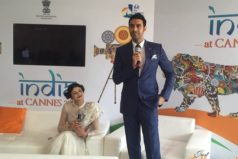 Talk by Sandip Soparrkar on dance in Bollywood  impresses audience at 69th Cannes Film Festival
