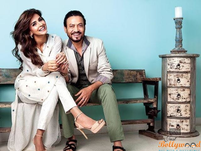 Catch The First Look Of Hindi Medium Featuring Irrfan Khan Saba Qamar