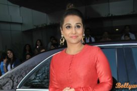 Vidya Balan Busy Taking Driving Lessons for the film TE3N