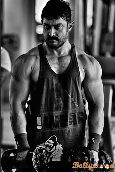Photo of Aamir Khan's muscular look as Dangal's young Mahaveer, see pic !