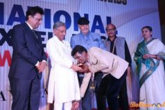 Bollywood actor Govindrao received 'National Excellence Award 2016' at Indore