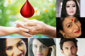 World Blood Donor Day 2016: Blood connects us all Telly Celeb stands for donating blood.