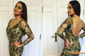 Sonakshi in Stunning Black at IIFA Day 2: Bet You Will fall in love with her