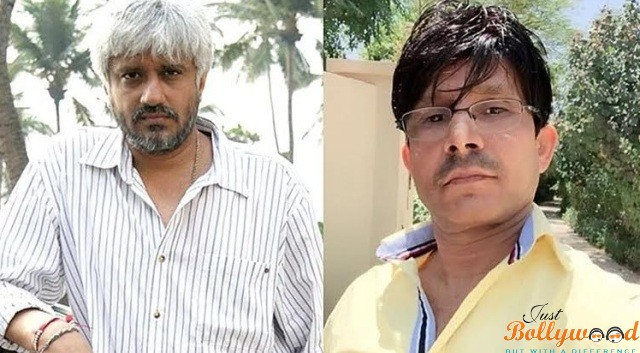 """On-screen character Kamaal R Khan has an inclination to make freakish comments against top VIPs of Bollywood on smaller scale blogging website Twitter. However, chief Vikram Bhatt has chosen to take him to court for maligning. In a Facebook post, Bhatt portrayed the long-standing enmity amongst them and the legitimate move he wanted to make against the performer. Bhatt and Khan have been at loggerheads following the time when a basic survey of '1920 London' Khan surfaced, in which, Bhatt says, """"He chose to do an audit of me rather than the film. He made preposterous suggestions — called me a cheat, a pimp and other obnoxious names."""" The claim prompted a string of counter-responses from Khan on Twitter. Khan had made rather genuine charges against Bhatt. """"I have been called numerous things some time recently, however here he was stating that I am a pimp and Meera is a  . Keeping in mind there were numerous on Twitter who thought this was in awful taste, there were numerous who were additionally entertained. One individual's disaster has dependably been another's stimulation. Be that as it may, would you be able to truly call a youthful, female partner of mine a   and escape with it?"""" Bhatt clarified his purposes behind making such a solid stride. It began with the survey of 1920 London. Bhatt says, """" I discovered my girl crying in the corner. She was harmed. As I took her little body wracked with wails in my arms, I saw things all the more obviously… When you don't fight the bits of gossip that are being executed about you, your quiet gives these bits of gossip the grub they have to appear like reality to the general population around you. I knew then that I needed to battle, notwithstanding to anything else then in any event my little girl's tears."""" He finished the post on a note of appreciation, """"This battle has quit being about me now. The film brotherhood has been a wellspring of vocation for my family for eras. This is the slightest I can do to say, 'Bless your """