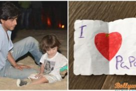 What's so special for Shah Rukh Khan on this Father's Day by son AbRam?